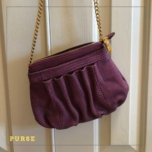 NWOT Cute Pinkish Maroon Color Purse!